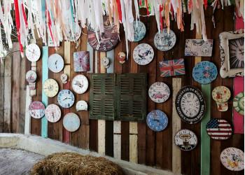 Wall of Clock