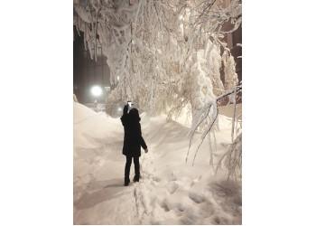 Snow at Hotel Södra Berget