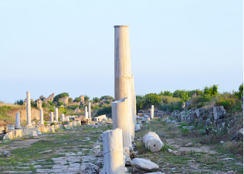 The ancient city Side