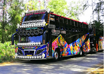 Thai party bus