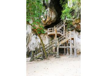 Cave entrance in Krabi