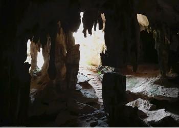 The cave in Krabi