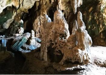 Inside the Krabi Cave
